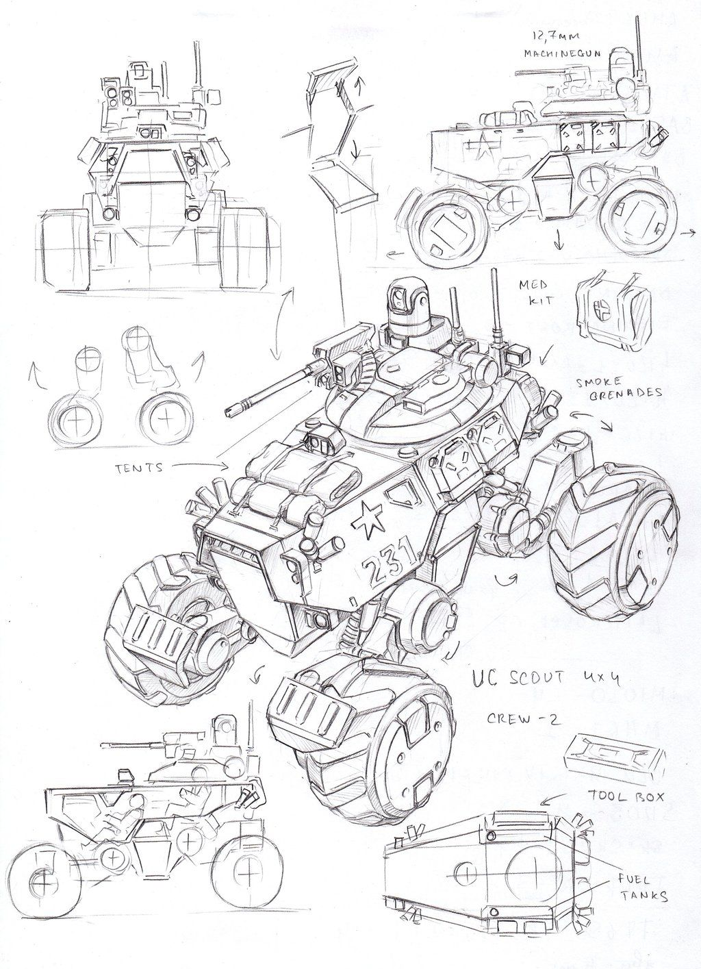 I Like This Raised Roverbuggy Look Uc Scout Vehicle By