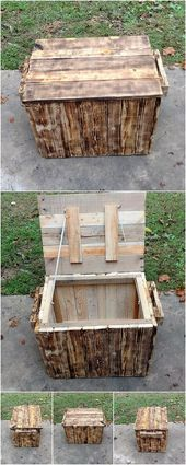 Latest DIY Wood Pallet Ideas That Will Make You Fall in Love  Home is where the heart is