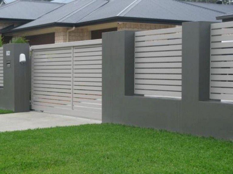 27 Amazing Modern Front Yard Privacy Fence Ideas Frontyard