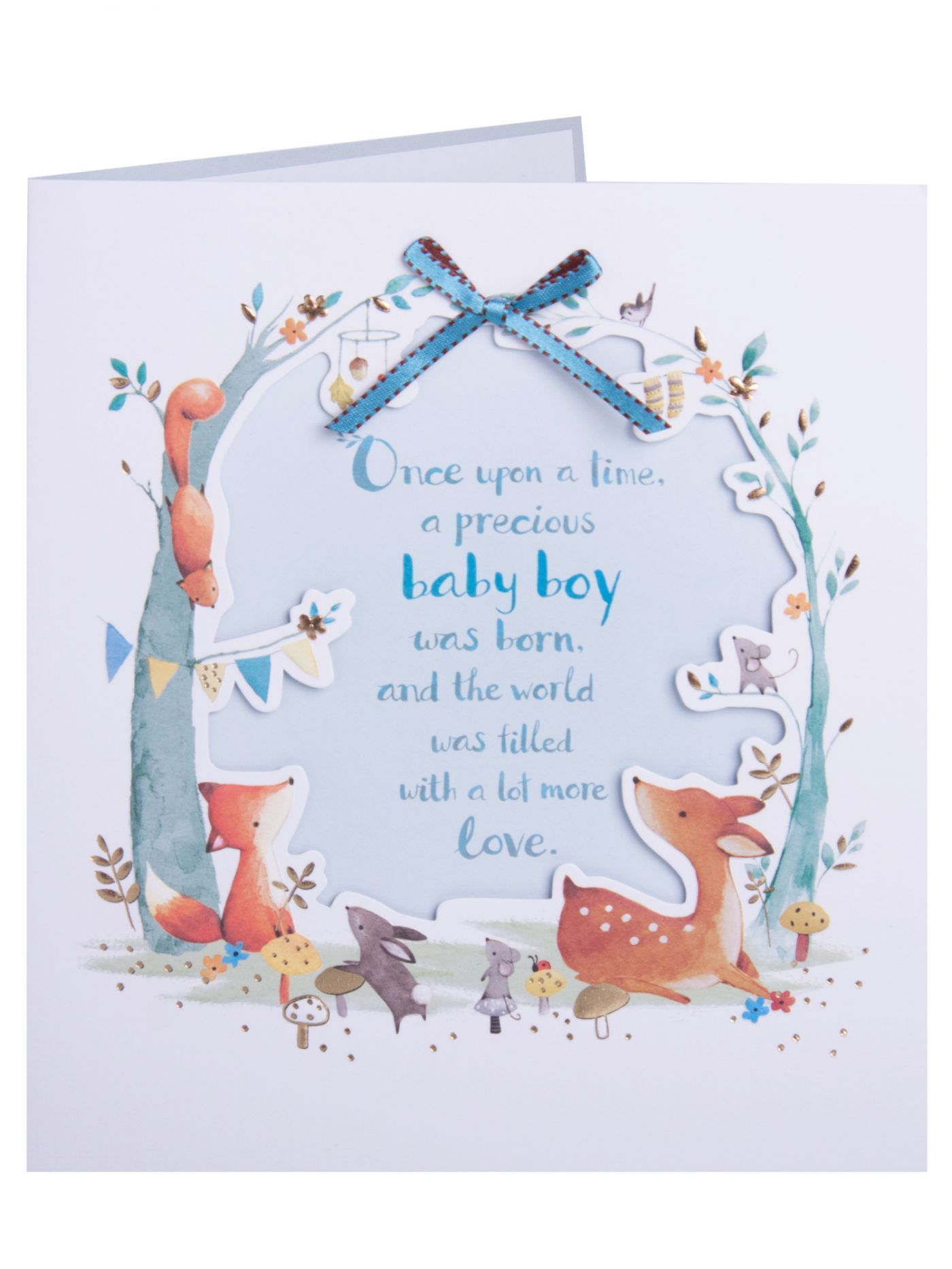 Cute Garden Animals Baby Boy Congratulation Card Congratulations Good Luc Baby Boy Congratulations Messages Baby Shower Gifts For Boys Baby Boy Decorations