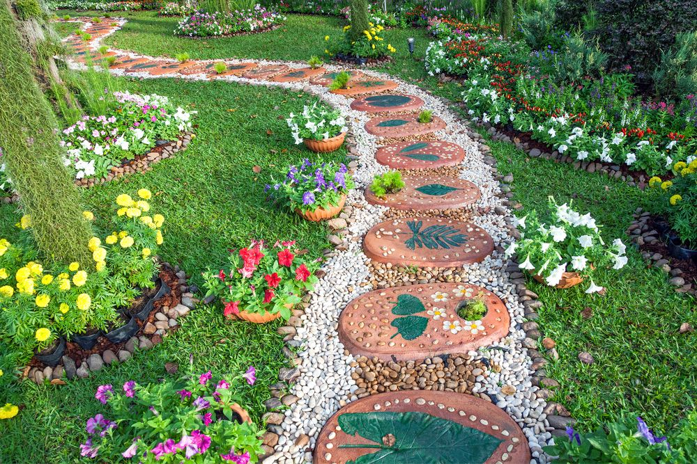 35 Incredible Garden Design Ideas of All Styles Gardens, Pathways