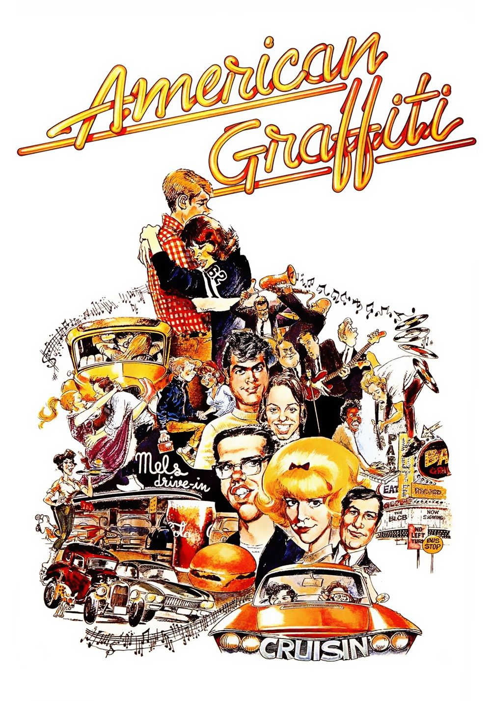 American Graffiti 1973 Where Were You In 62 Vintage Movies
