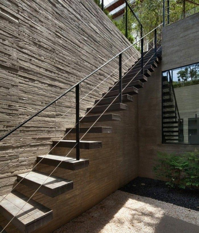 Escalier Exterieur Maison Moderne