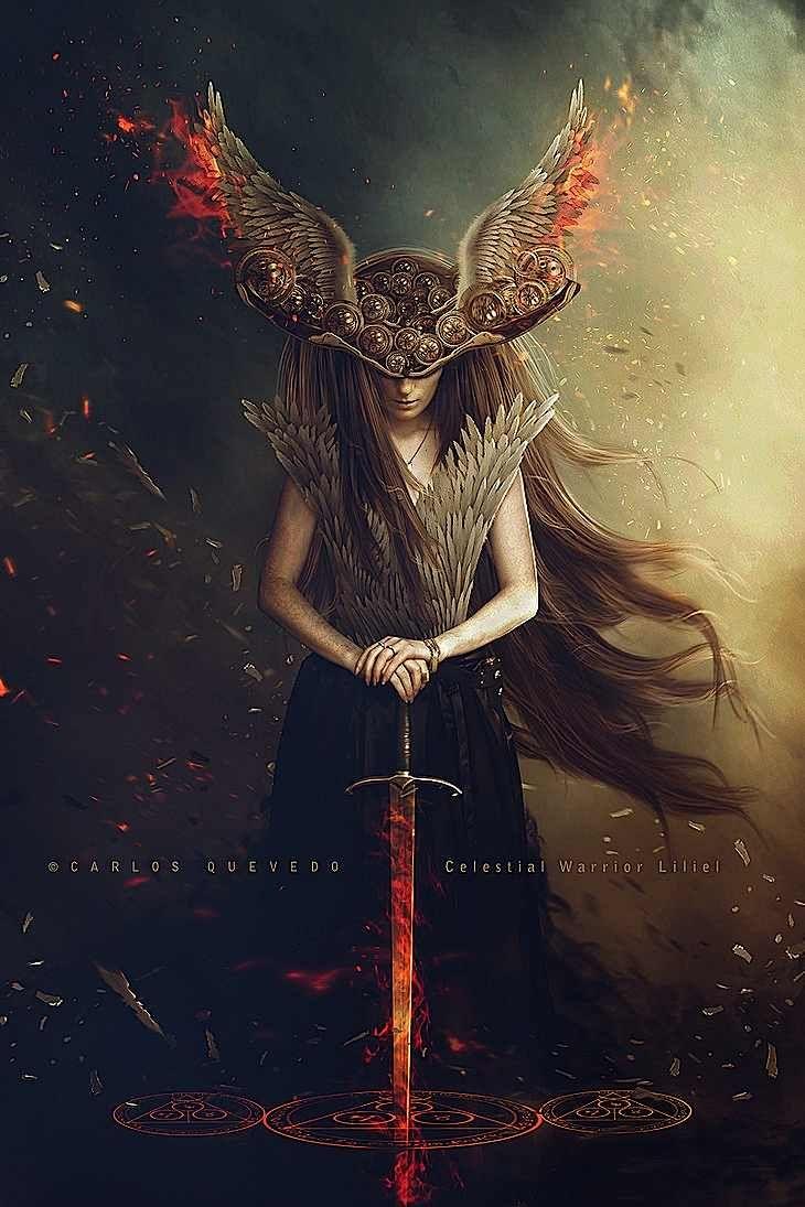 Celestial Warriors Series by Carlos Quevedo | Abduzeedo Design Inspiration