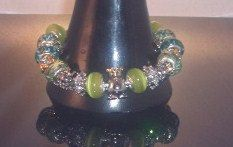 Bracelet with Frog Penguin Octopus Princes European by tuckapaws, $35.00
