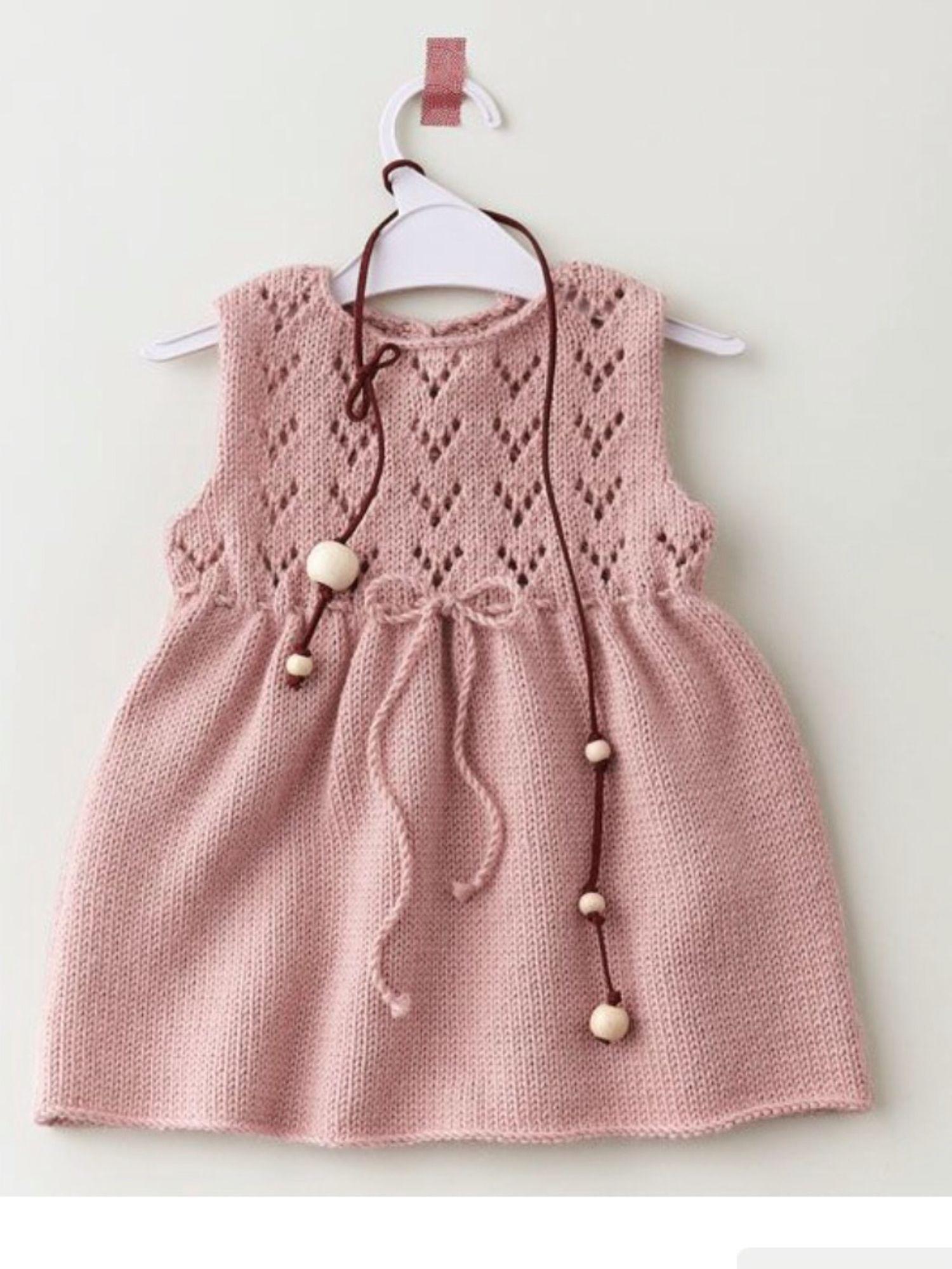 robe layette tricot gratuit