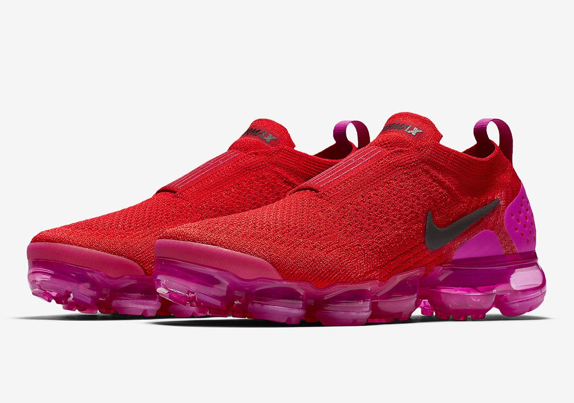 491066a20c5 The Nike Vapormax Moc 2 Set To Arrive In Bold Red And Pink Colorway ...
