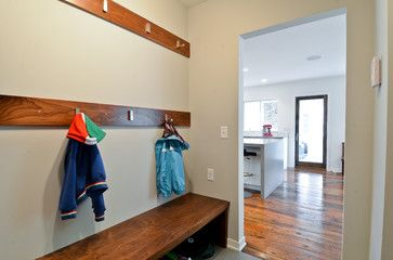 Scandinavian Contemporary Mudroom Design Mud Room Entry Entryway Storage