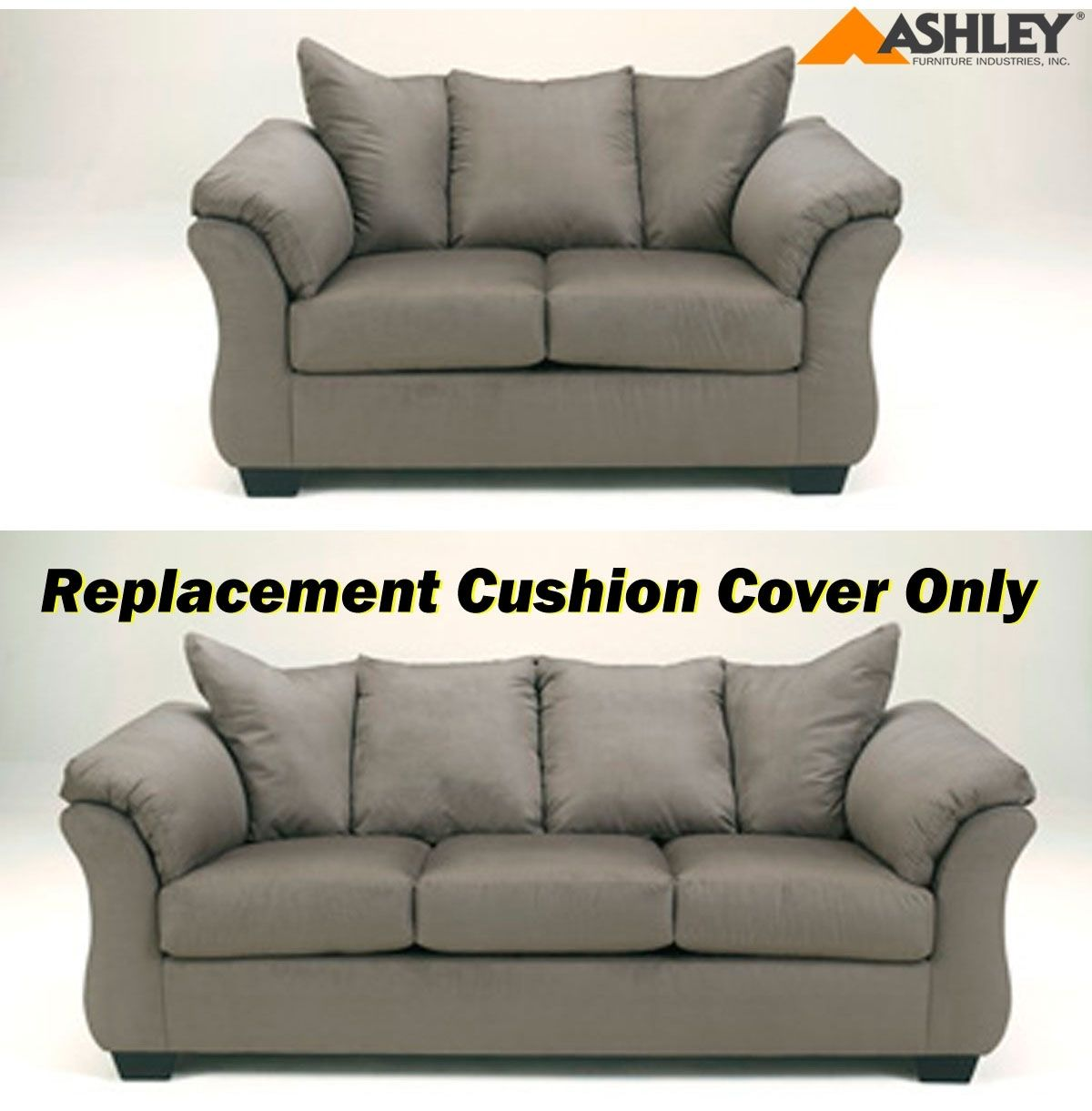 Best Collections Of Sofa And Couch Sofacouchs Ashley Darcy Replacement Cushion
