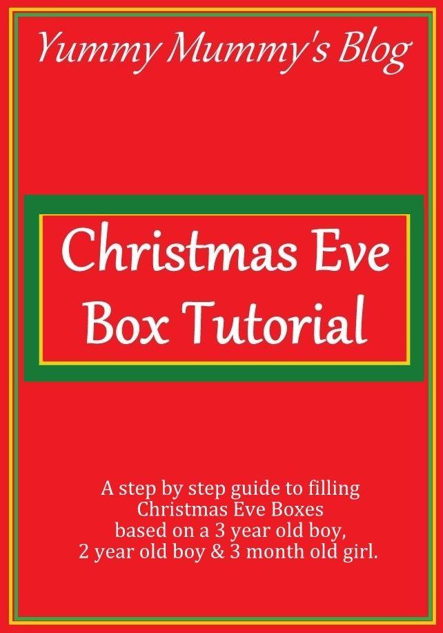 Christmas Eve Box: Step by Step Tutorial   Christmas eve box, Tutorial, Christmas eve