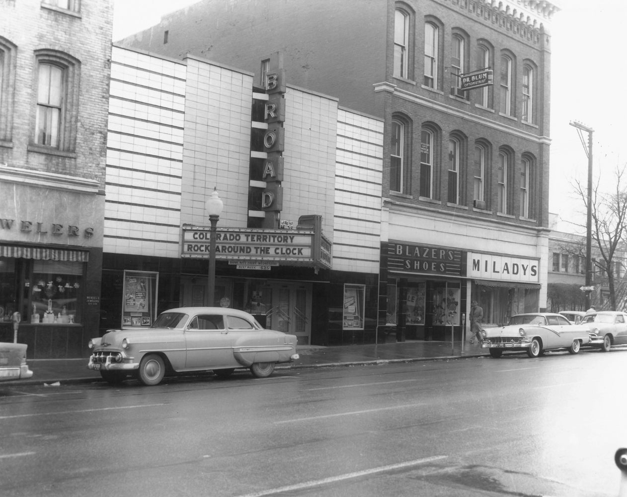 Broad Theater Lancaster Oh 1950s Tbt Fairfield County