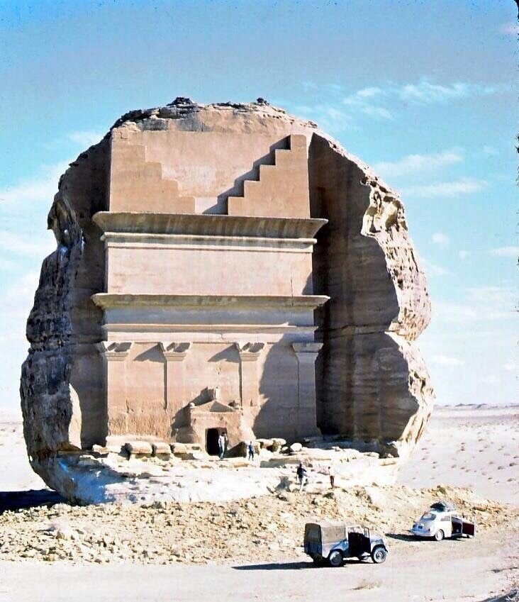 Madain Saleh, Saudi Arabia. 1960s