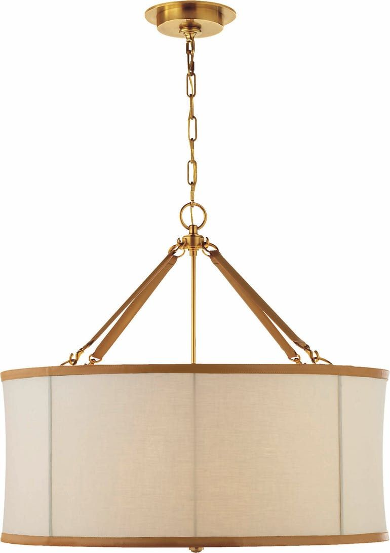 Broomfield Small Pendant In Natural Br Ralph Lauren Home