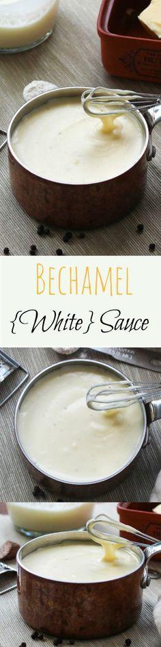 kitchen basics a simple bechamel sauce white sauce recipe recipe recipes bechamel sauce on hebbar s kitchen white sauce pasta id=23170