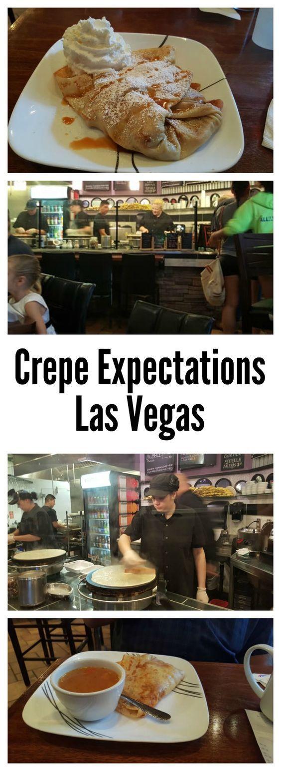Crepe Expectations Menu Hours Reviews Vegas Vegas