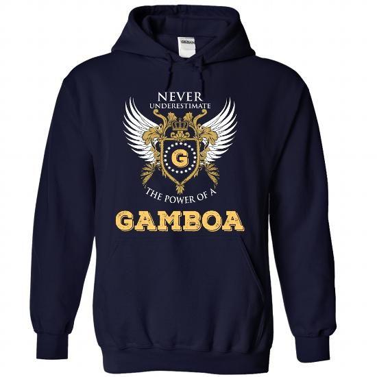 GAMBOA - #gift bags #shower gift. GET => https://www.sunfrog.com/Names/GAMBOA-8858-NavyBlue-33546694-Hoodie.html?68278