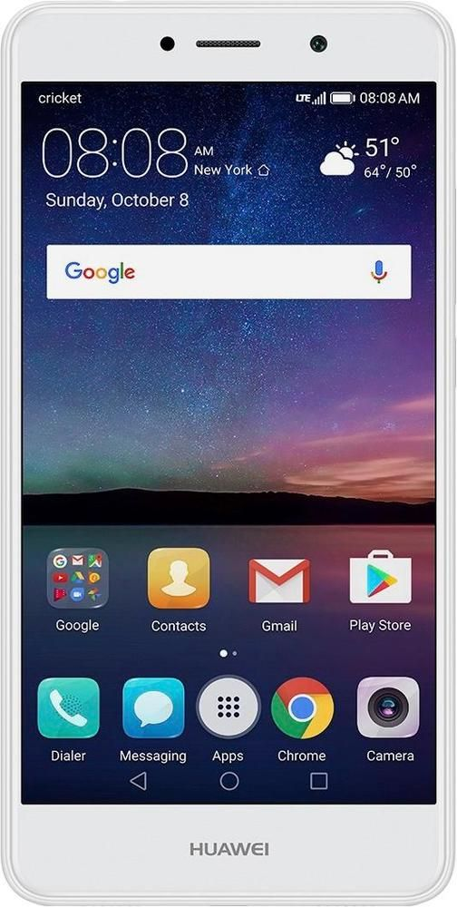Cricket Wireless - Huawei Elate 4G LTE with 16GB Memory Prepaid Cell