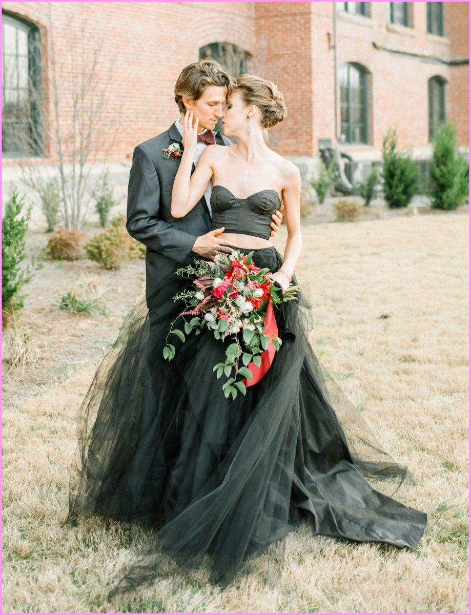 Most beautiful red and black wedding dresses wedding dress
