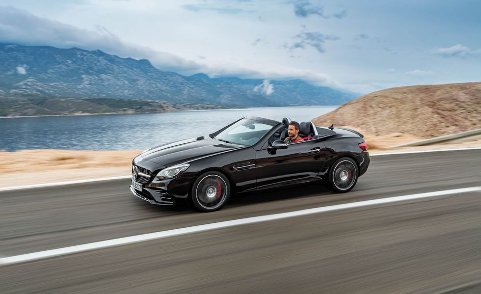2019 Mercedes Amg Slc43 Review Pricing And Specs Mercedes Slc Mercedes Sports Car Mercedes Benz 2017
