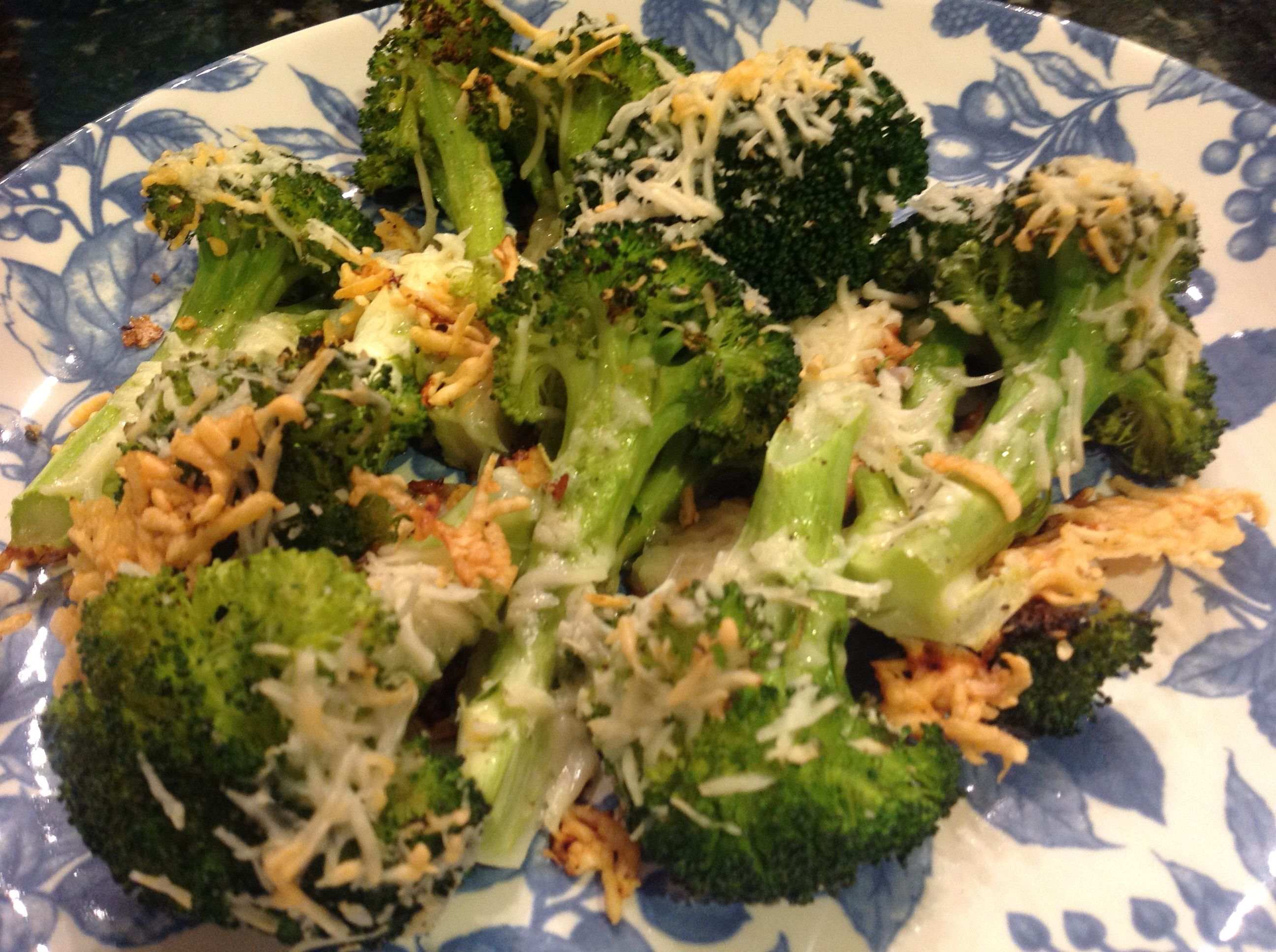 Crispy Parmesan Roasted Broccoli    Nutrition Information  Serves: 4    Calories: 120  …