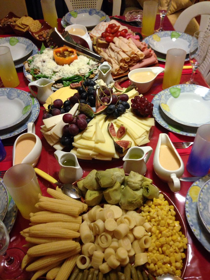 My lovely and delicious Christmas eve table (With images