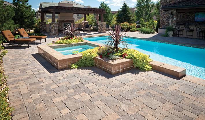 Viking Pavers Is A Leading Pool Deck Designs And Pool Decks Installation Company Click Here To Read More About Us Swimming Pool Landscaping Swimming Pool Pictures Swimming Pool Decks
