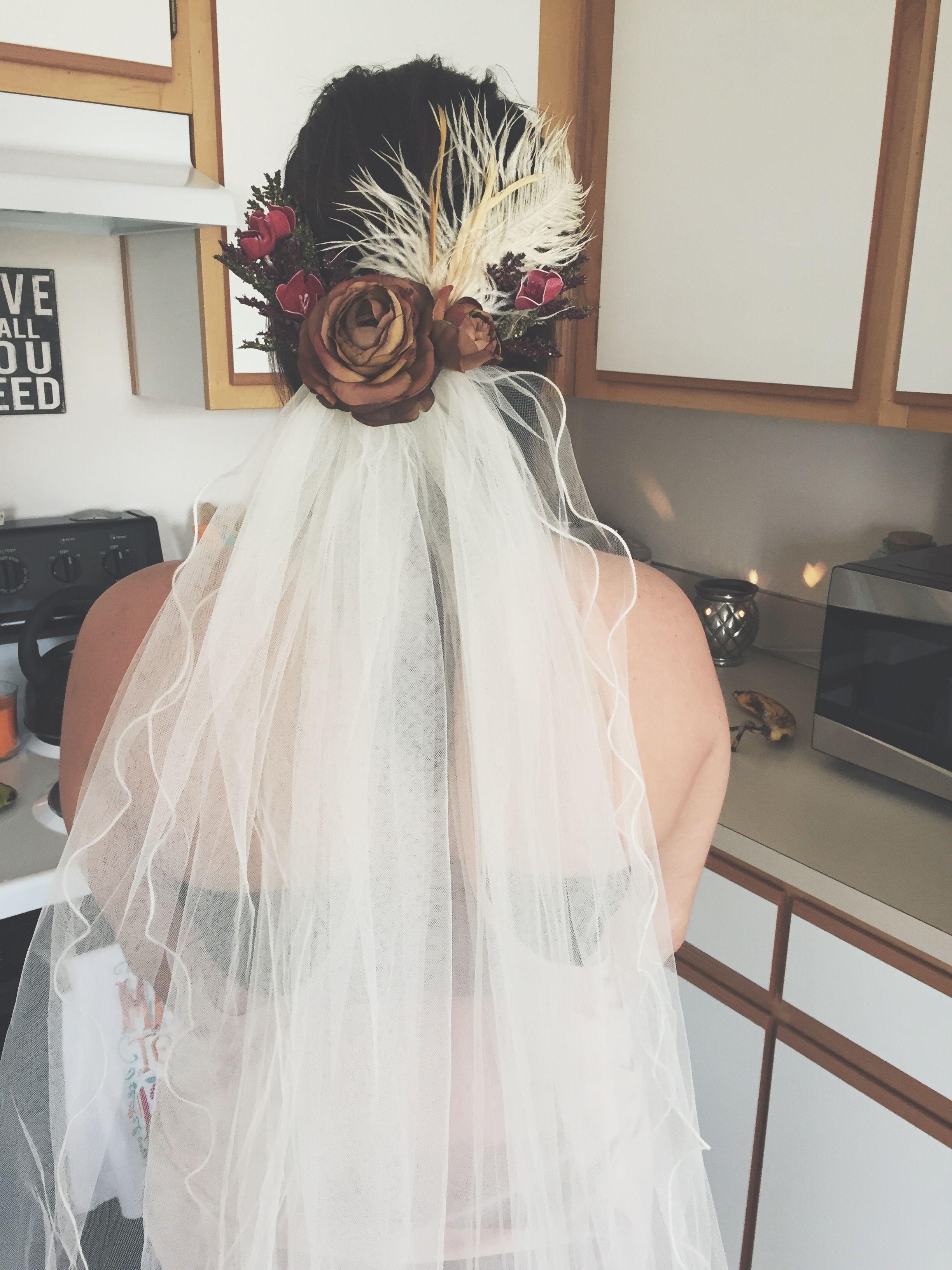 Boho Chic Wedding Veil