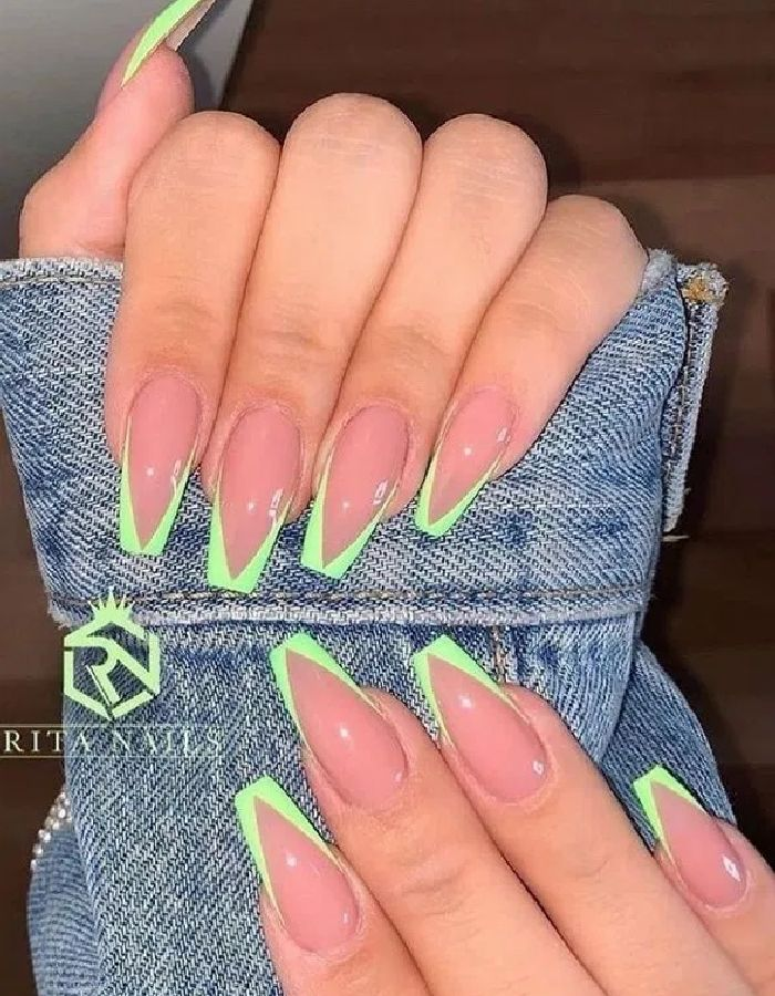 63+ Simple Summer Square Acrylic Nails Designs In 2020