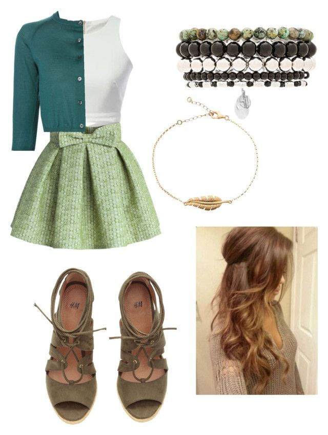 """ANNA"" by monkadoodles on Polyvore featuring Chicwish, Marni and Samantha Wills"
