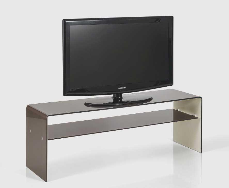 meuble tv en verre design nouveau