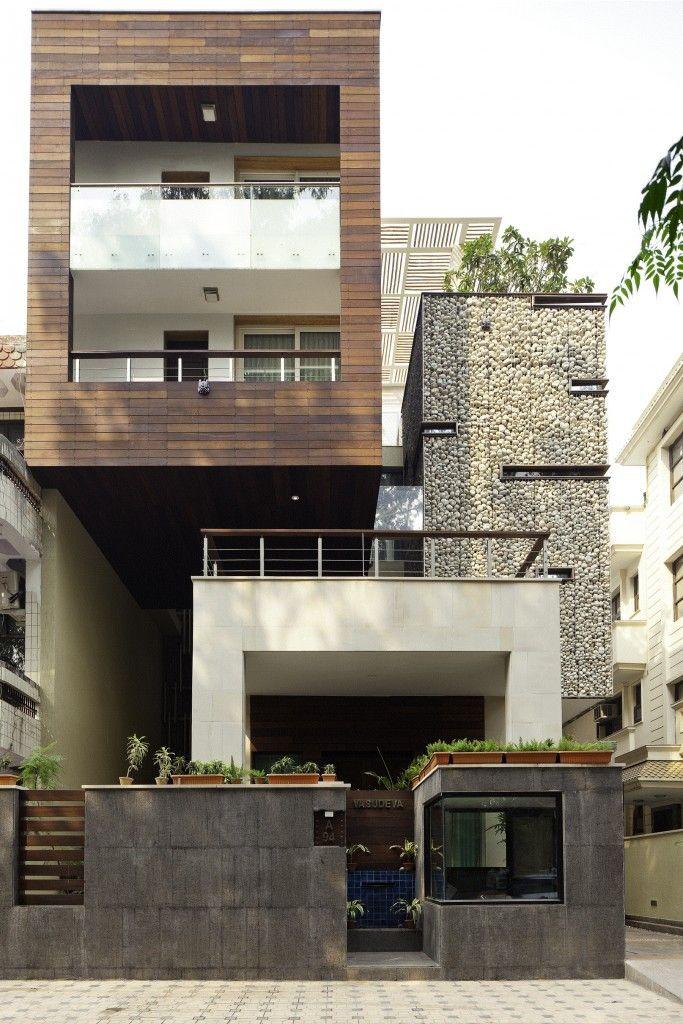 Arch anagram architects delhi progettato questa residenza for Case moderne contemporanee