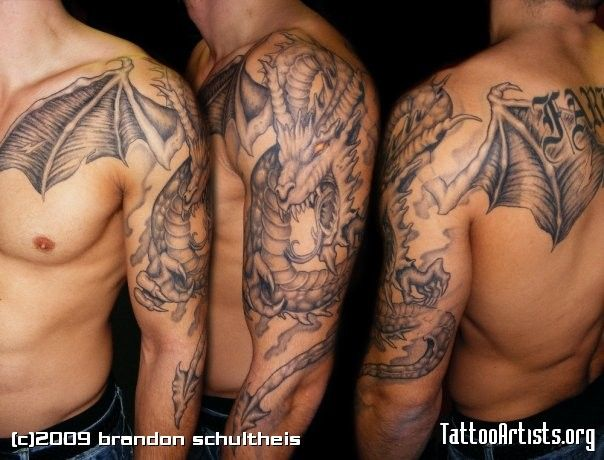 medieval dragon tattoos that catch my eye pinterest tattoo medieval tattoo and tattoo designs. Black Bedroom Furniture Sets. Home Design Ideas