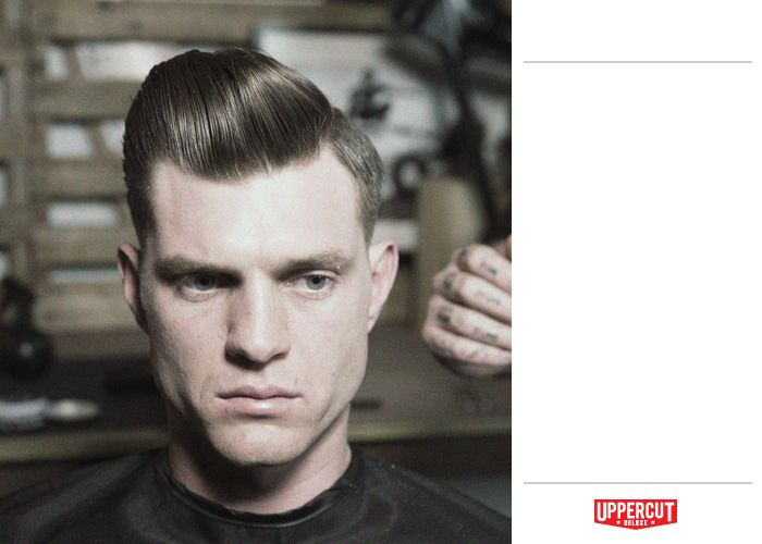 Uppercut Deluxe is a modern, yet traditional approach to men\u0027s grooming.  Learn how to style a Side Part Pomp with Uppercut Deluxe.