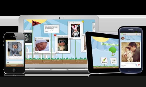 Moment Garden Mobile Apps Websites Pinterest Digital