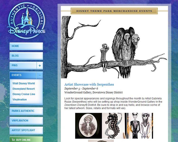 UPCOMING SHOWCASE!  Artwork by Serpenthes at Wonderground Gallery in Anaheim, CA // Starting September 6, 2014