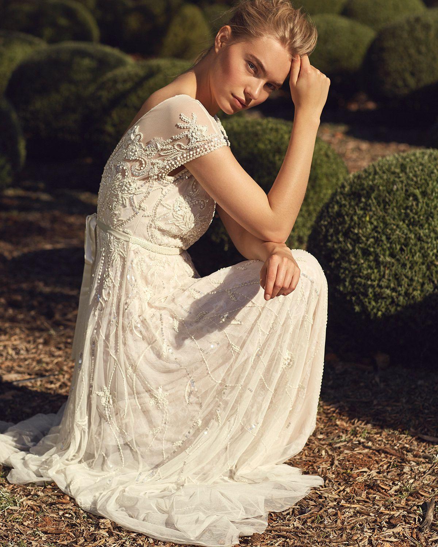 1920s Wedding Dresses- Art Deco Style | Vintage lace weddings, Lace ...