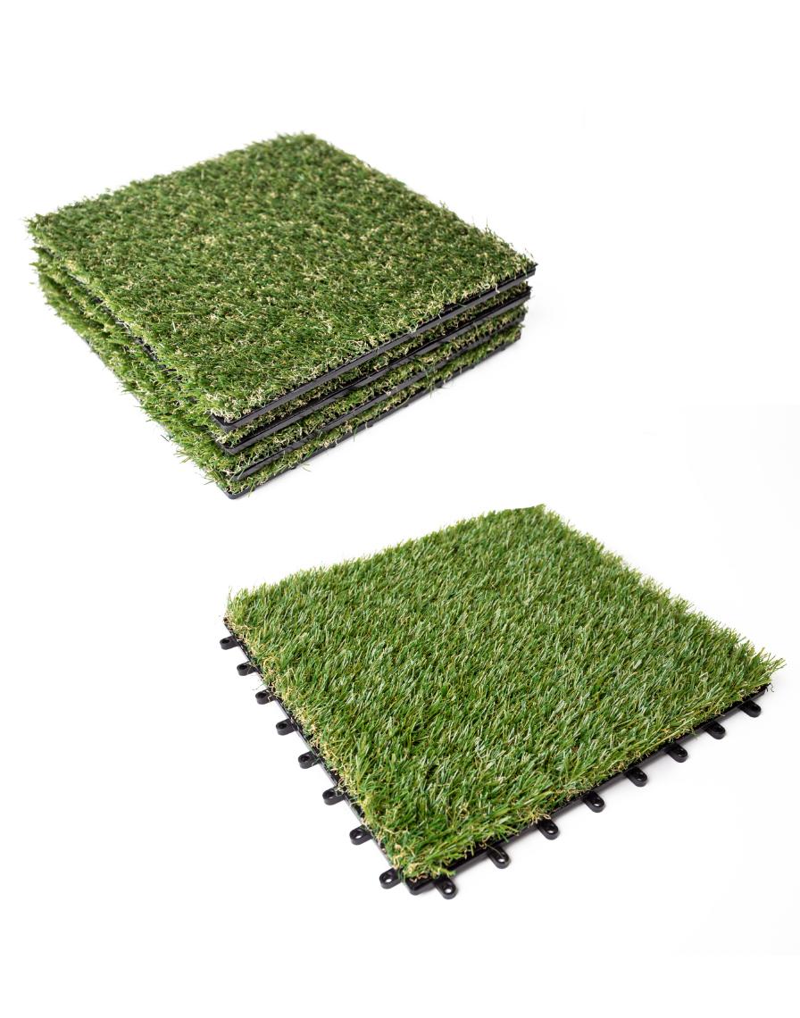 Kuta Outdoor Flooring Tiles Grass, Outdoor Interlocking Tiles For Grass