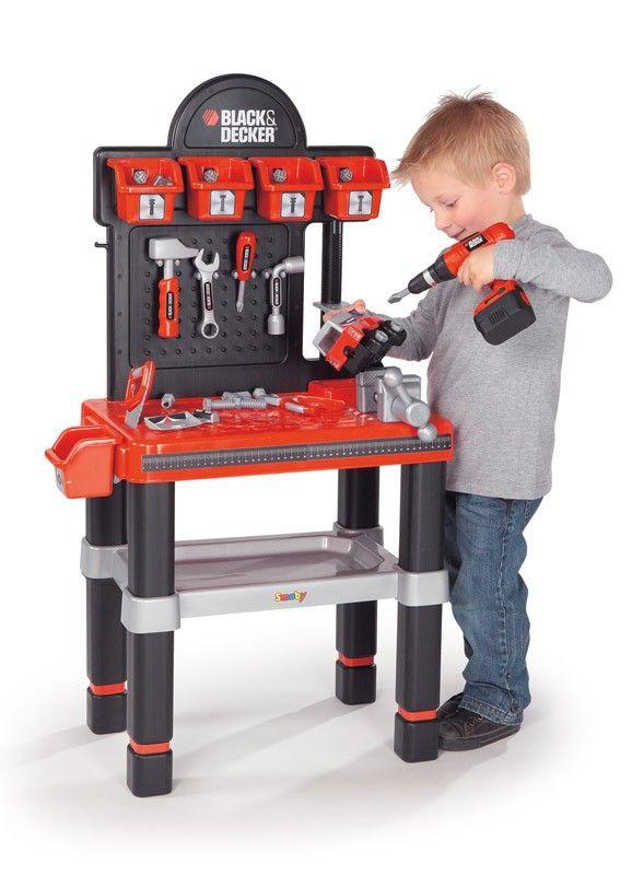 Etabli bricolo center black decker jeu bricolage smoby jeux et jouets pinterest - Etabli black et decker ...