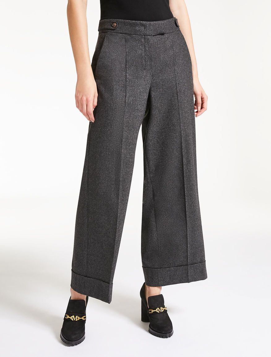 Aw Sultano Grey Medium Pinterest 2018 Trousers Wool Flannel UCXqaa