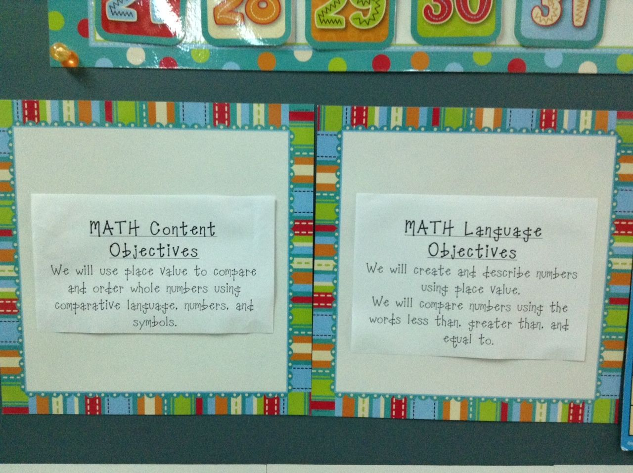 Content and Language Objectives must be posted in our classrooms ...