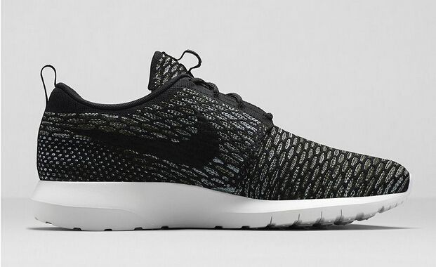 new style e3245 0519e Official Price of Nike Roshe Run Flyknit 677243-003 Sneakers