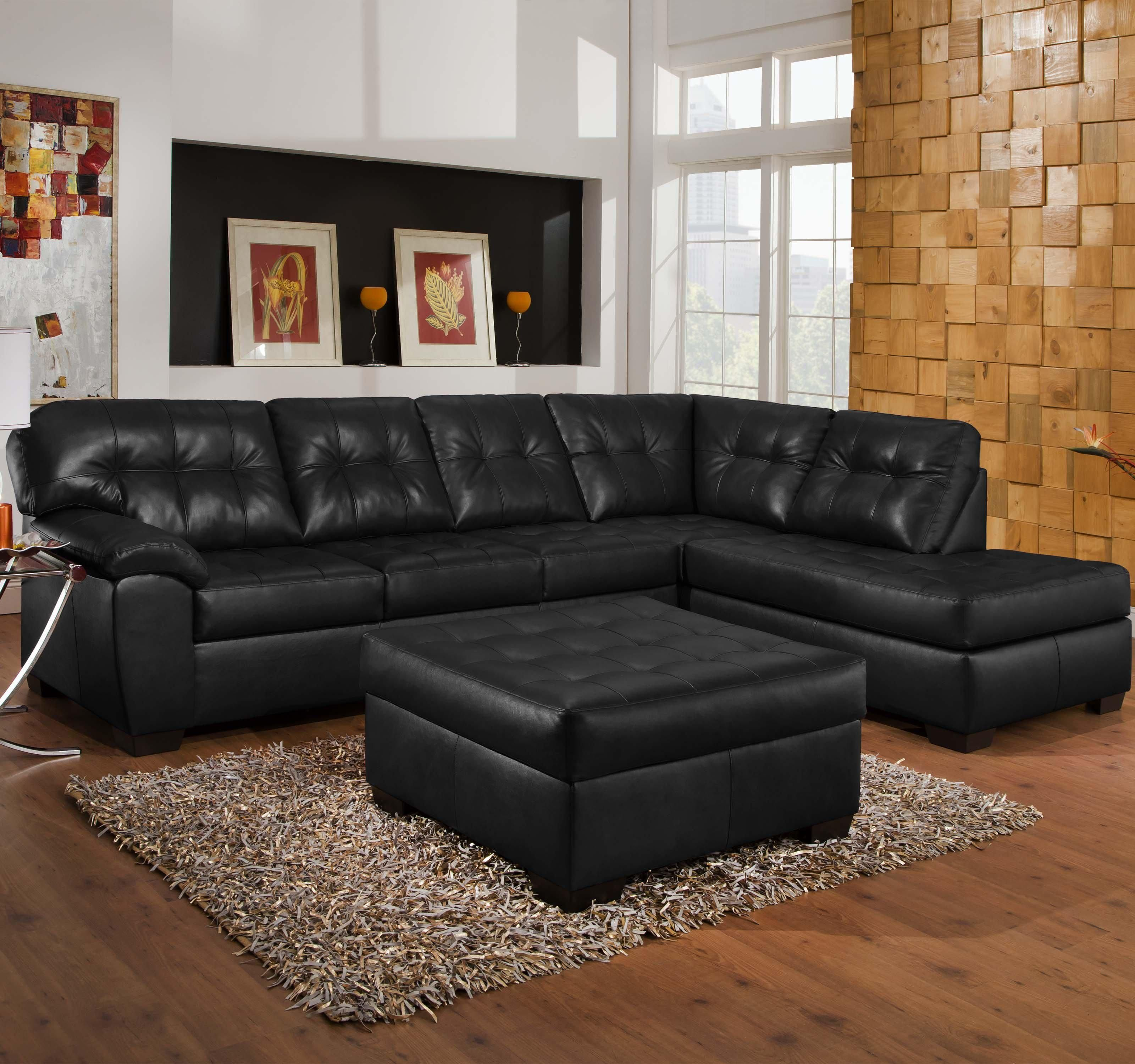 9569 2 Piece Sectional With Tufted Seats Back By United Furniture Industries Knoxville Red Sectional Sofa Couches Living Room Sectional Couches Living Room