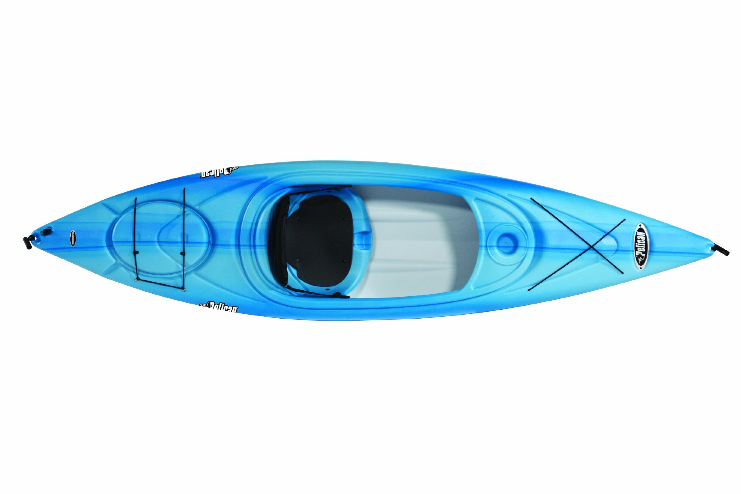 Amazon Com Pelican Summit 100x Kayak Fade Blue White White Sports Outdoors Kayaking Fishing Kayak Reviews Best Fishing Kayak