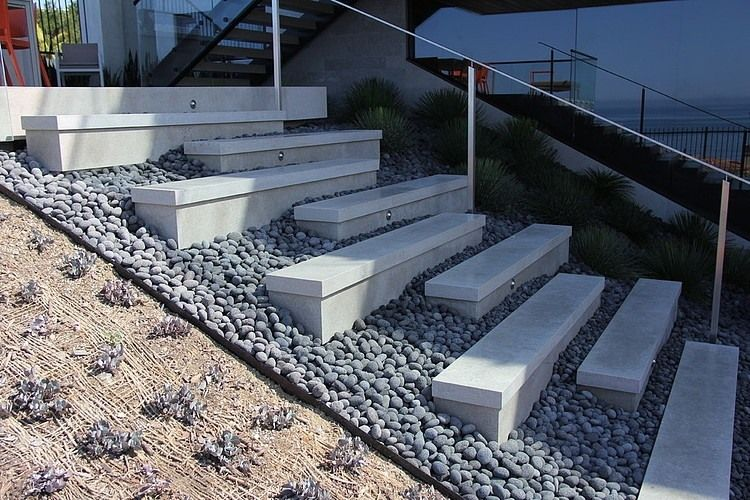 Best Orange County House By Horst Architects Outdoor Stairs 400 x 300