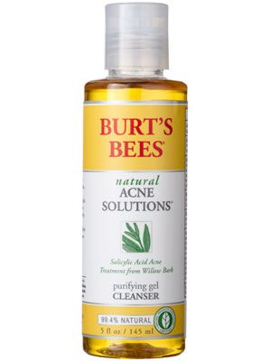 Burt S Bees Natural Acne Solutions Purifying Gel Cleanser Review