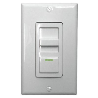 Lithonia Lighting Led Troffer Dimmer Switch Isd Bc 120 277 Wh M10 The Home Depot Lithonia Dimmer Switch Lithonia Lighting