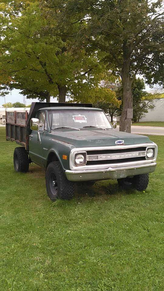 1970 K30 Chevrolet flatbed truck Maintenance of old vehicles: the