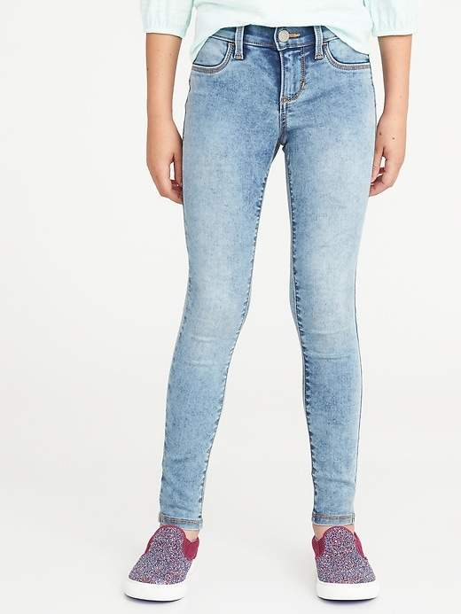 b9e41ed3954de Ballerina Acid-Wash Jeggings for Girls in 2018