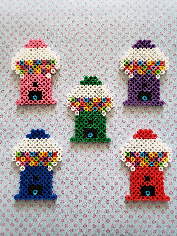 Bubble Gum Machine | Perler Bead | Decoration #beads