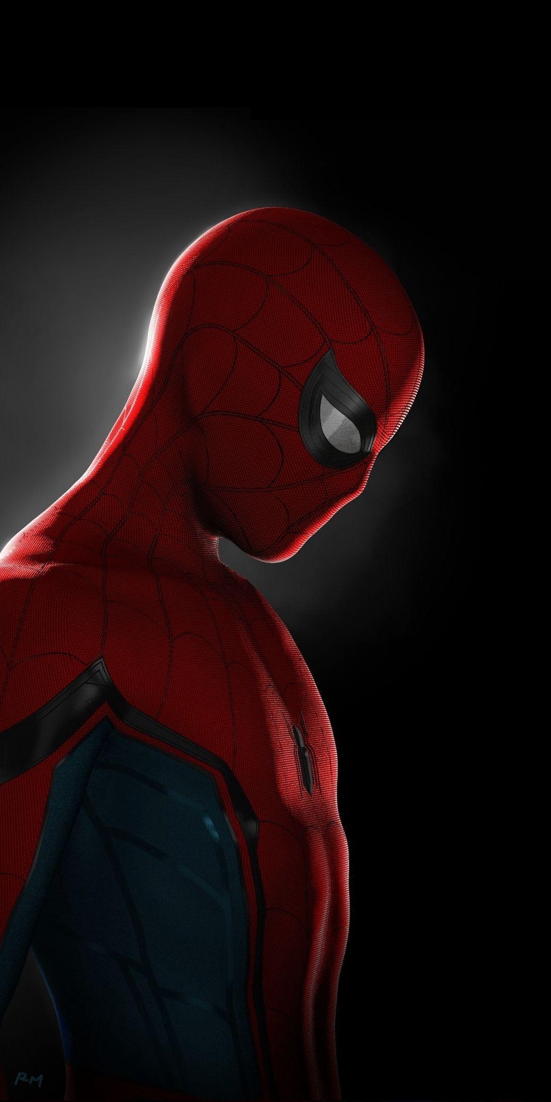 Spider Man Superhero Minimal Artwork 1080x2160 Wallpaper Superhero Wallpaper Marvel Comics Wallpaper Spiderman